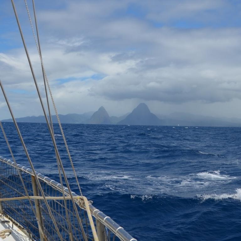 Überfahrt nach St. Lucia